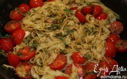 Рецепт Макароны с тимьяном и орегано