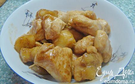 Рецепт Курица с бананами