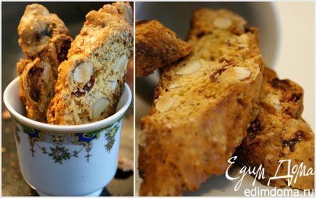 Рецепт Хрустящее тосканское миндальное печенье Бискотти