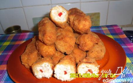 Рецепт Куриные палочки с перчиком