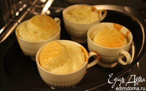 Рецепт Суфле с голубым сыром и мускатным орехом