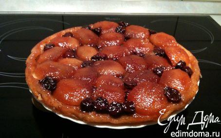 Рецепт Тарт Татен с яблоками и вишней