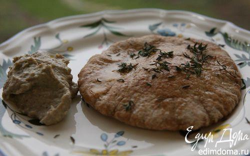 Рецепт Закуска из запеченных баклажанов с тимьяном и мятой