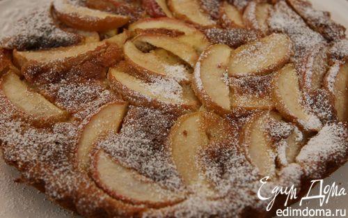 Рецепт Лимонно-яблочный пирог