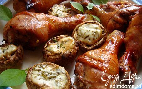Рецепт Куриные голяшки на решетке (с комплиментом)