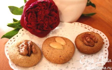 Рецепт Печенье «Три орешка для золушки»