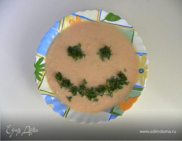 Похлебка картофельная с помидорами