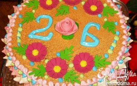 Рецепт Бисквитный торт ( ну оочень вкусный))))))