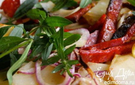 Рецепт Запеканка из картофеля с чоризо