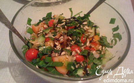 Рецепт Летний салат «Свежесть»