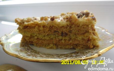 Рецепт Белково-ореховая насолода