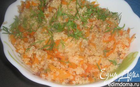 Рецепт Киноа с морковкой