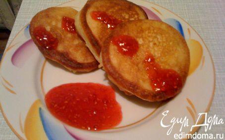 Рецепт Бабушкины «Ладки» с малиновым вареньем