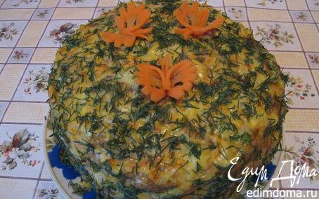 Рецепт Мясной слоеный пирог