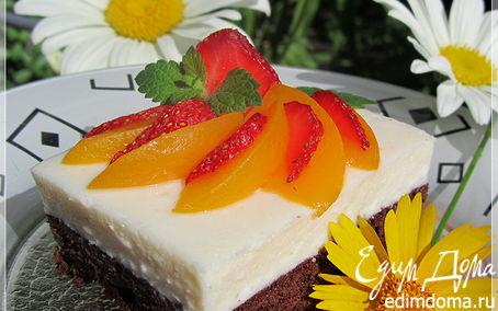 Рецепт Легкий торт с суфле