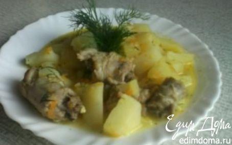 Рецепт Жаркое с куриными шейками