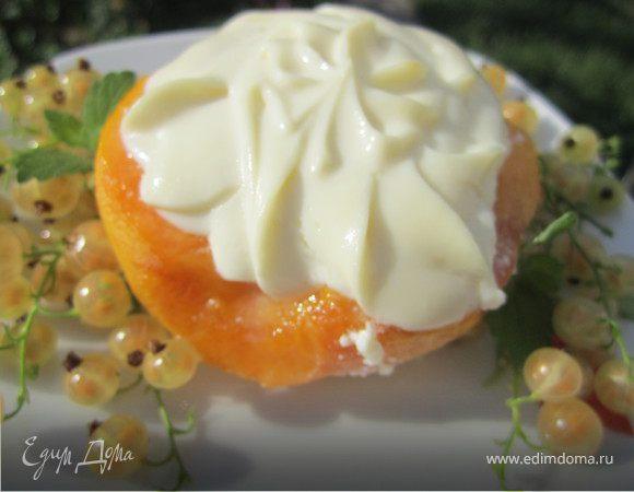 """Десерт """"Творожный персик"""""""