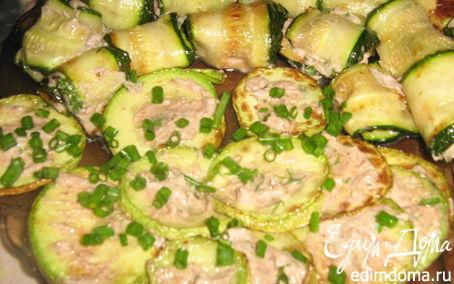 Рецепт Закуска из кабачков с орехами