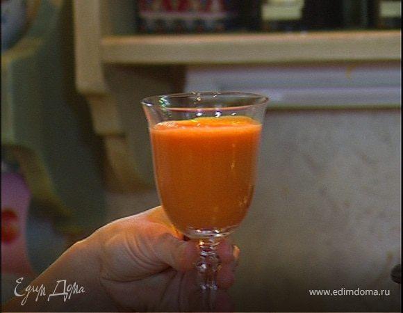 Морковный сок с редиской и яблоком