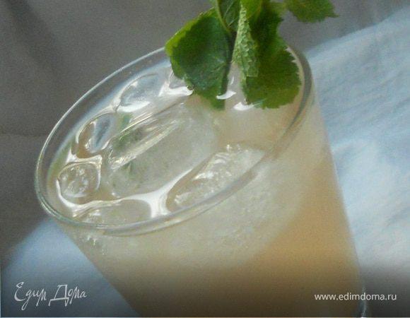Грейпфрутово-мятный лимонад