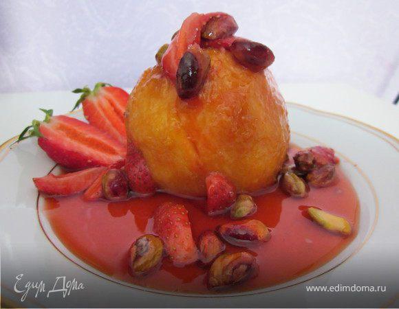 """Персик """"Мельба"""" (обед во французском стиле № 1)"""