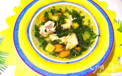 "Рецепт Суп ""Морковные хвостики"""