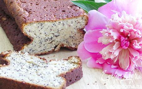 Рецепт Сочный творожный кекс с маком