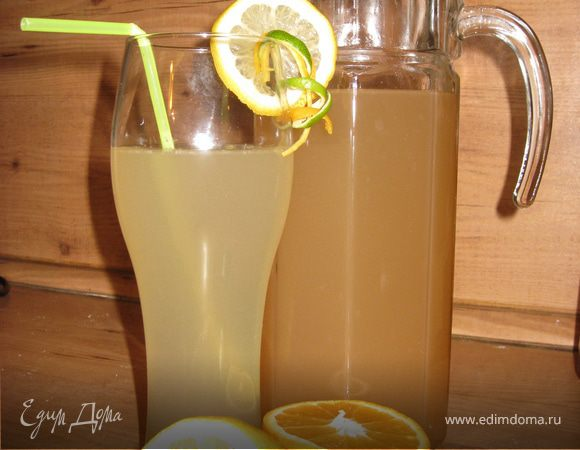 Домашний имбирный эль (Ginger Ale)
