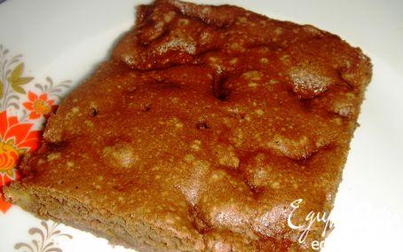 Рецепт АбриШоковый бисквитный пирог