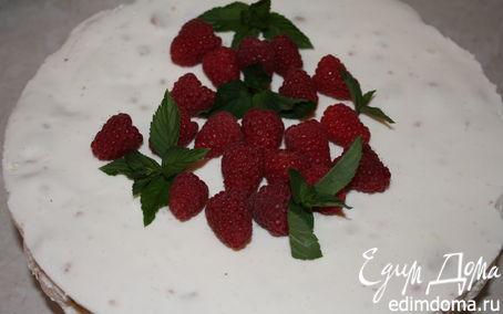Рецепт Летний торт с малиной