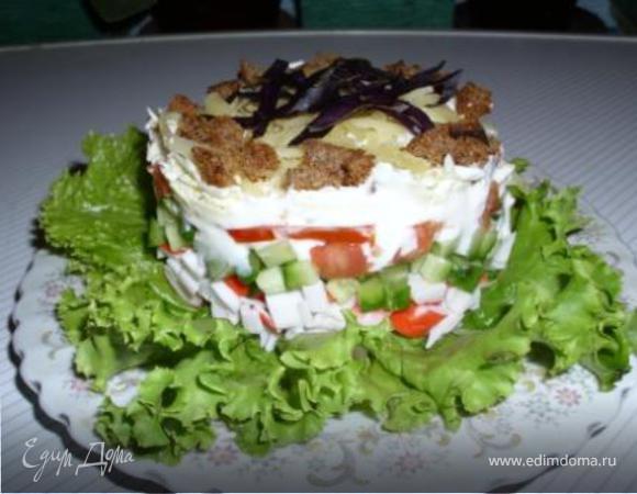 Салат для девочек (вместо ужина).