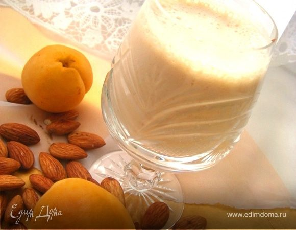 Кремовый коктейль с миндалем и абрикосом для Ольги♥Ч