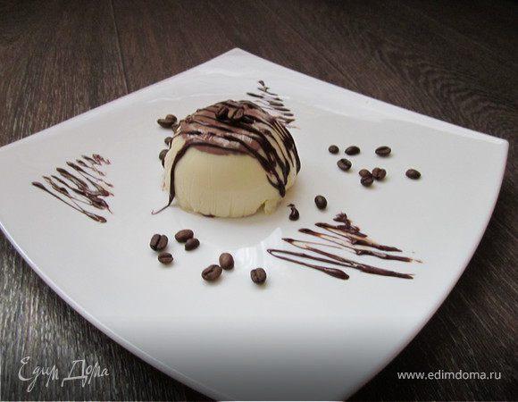 Кофейно-шоколадный десерт (обед во французском стиле № 2)