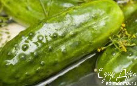Рецепт Огурчики соленые с горчицей