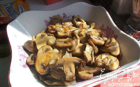Рецепт Жареные грибочки с луком.