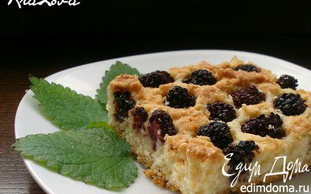 Рецепт Ежевично-кокосовый пирог