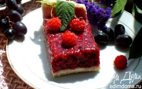 Рецепт Пирог малиновый с корицей