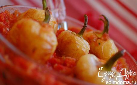 Рецепт Перцы в томатной заправке.
