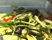 Овощи, обжаренные на гриле