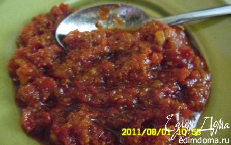 Рецепт Сырая аджика(приправа)