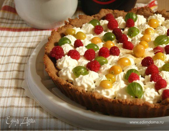 Пицца со свежими ягодами