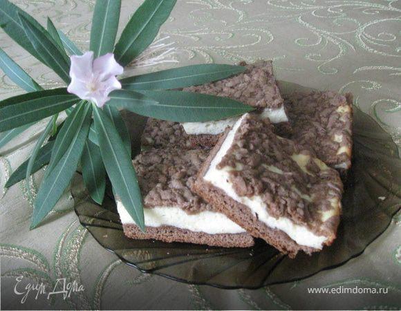 Нежный творожный пирог