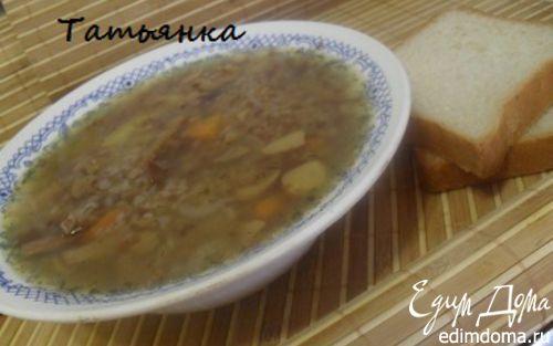 Рецепт Старорусская грибная похлебка.