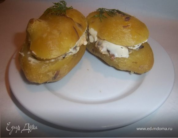 Сундучки из картошки