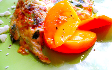 Рецепт Фриттата с кабачком и сыром