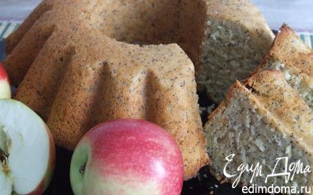 Рецепт Лимонно-маковый кекс
