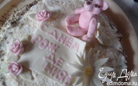 Рецепт торт МОККО ореховый