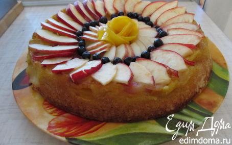 Рецепт Шарлотка с яблоками и грушами