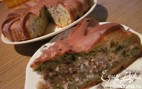 Рецепт Заливной рыбный пирог