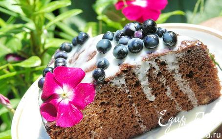 Рецепт Шоколадный торт с виски и паслёном.